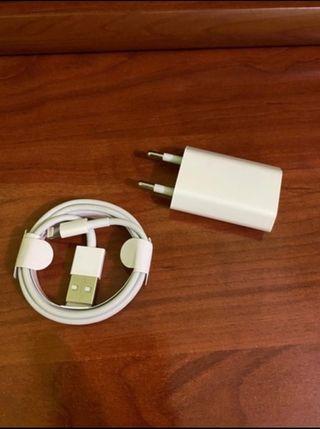 cargador original Iphone sin estrenar