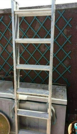 escalera de aluminium