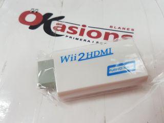 ADAPTADOR NUEVO HDMI , para Wii