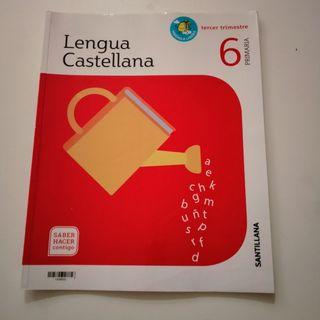 Libro de texto de 6 primaria lengua castellana