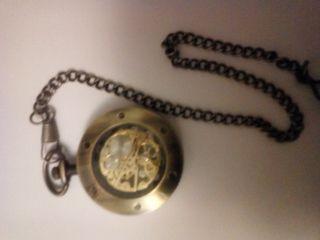 Reloj de bolsillo a cuerda mecanico