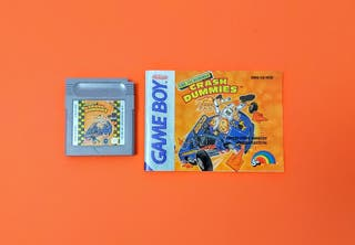 Crash Dummies + Manual (en alemán) / Game Boy