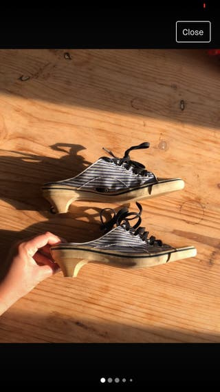 Zapatos RAS -estilo Converse abierta