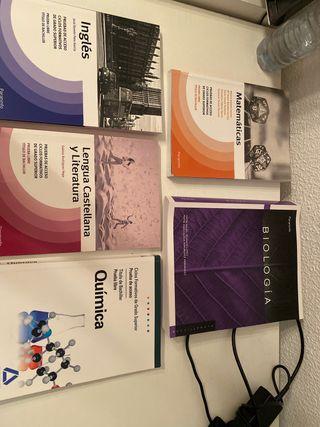 Libros prueba de acceso a grado superior