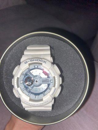 Reloj blanco G Shock