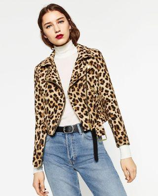 Chaqueta leopardo Zara