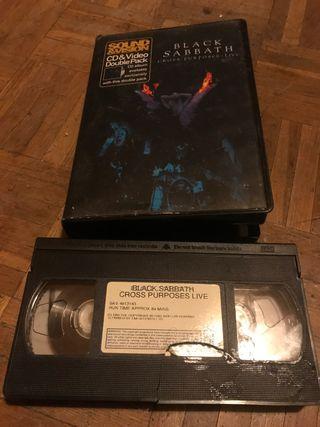 Black Sabbath - Cross Purposes VHS
