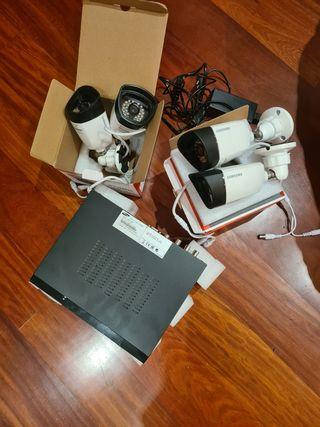 Cámara de vídeo vigilancia Samsung
