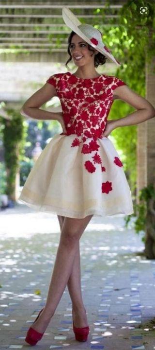 vestido de silvia navarro talla 36