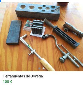 HERRAMIENTAS DE JOYERÍA