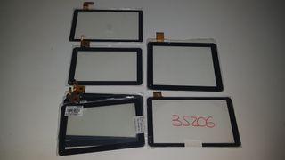 Lote de pantallas táctiles de tablet