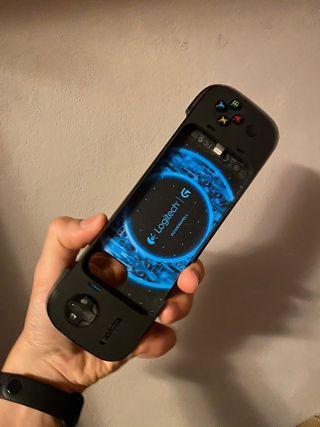 Funda batería y control de videojuegos iphone SE