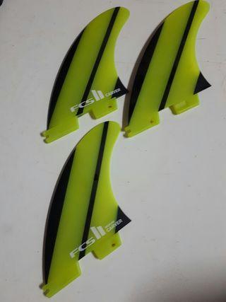 Quillas surf FCS II