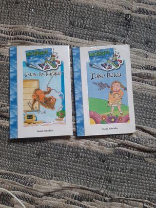 Libros en euskera para 8 años