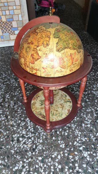 Mueble Bar Globo Mundo