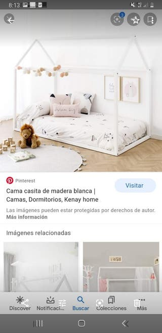 cama casita montessori nueva