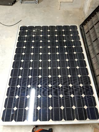 placa solar 220w
