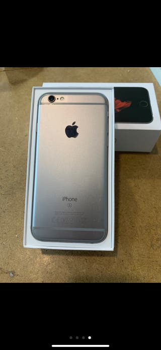iPhone 6 Gris espacial batería nueva