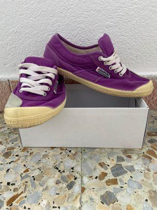 Zapatillas KAWASAKI violetas