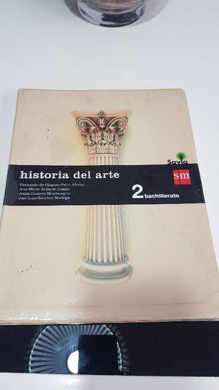 Libro Historia del arte 2 bachillerato sm + cuader