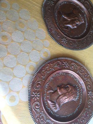 Platos de cobre ,,