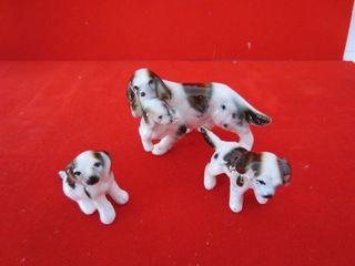 Casas de muñecas juego de porcelana perritos ganga