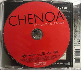 CD Single Chenoa. En tu cruz me clavaste