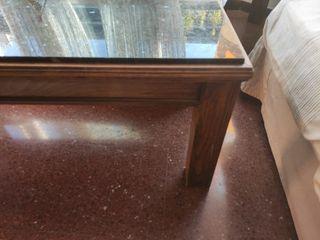 Mesa auxiliar sofá. 1m x 50cm