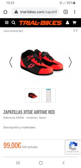 zapatillas bike trial