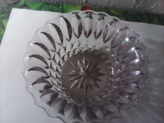 pequeño cuenco bol cristal