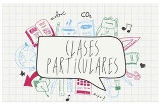 Clases particulares (apoyo escolar)