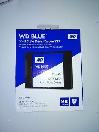 SSD 500GB nuevo