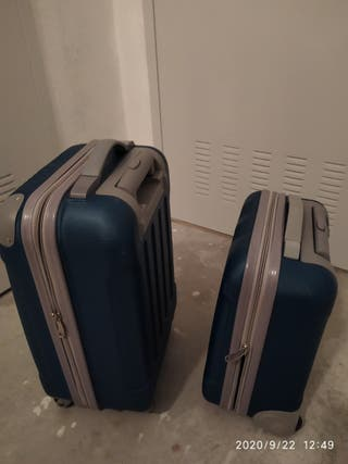 Juego maletas con ruedas, 2 unidades, cabina