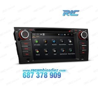 "RADIO GPS 7"" BMW E90/91/92/93 USB GPS TACTIL HD"