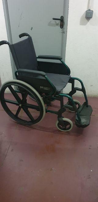 silla ruedas