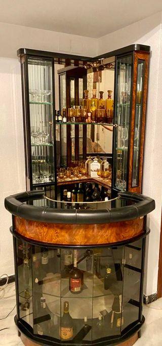 Barra bar para salon