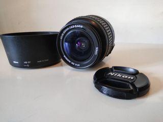 Objetivo Nikon 18-55 cámara reflex