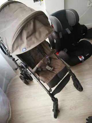 pack sillita Chicco liteway y silla coche