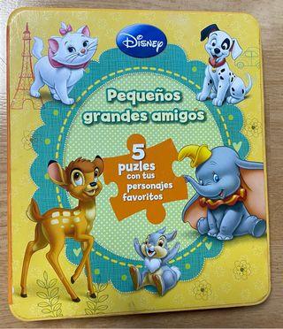 Libro puzzle de Disney