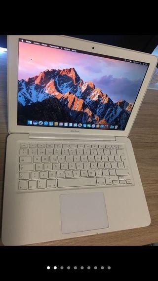 """Apple MacBook de 13"""" blanco"""