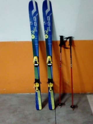 Esquís Quechua MRZ 100 + bastones