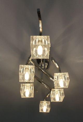 juego 2 lámparas halógenas bombillas led incluido