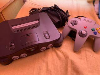 Nintendo 64 + 1 mando