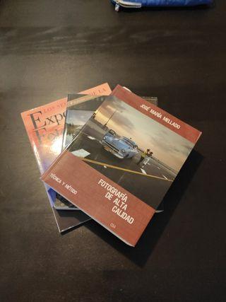 lote libros de fotografia