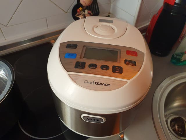 robot de cocina.chef titanium
