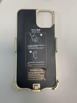 Cargador funda iPhone 6