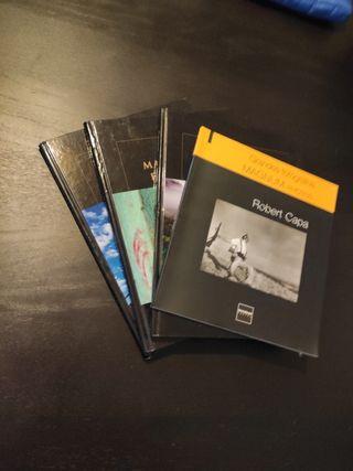 Lote de libros de fotografía de referencia
