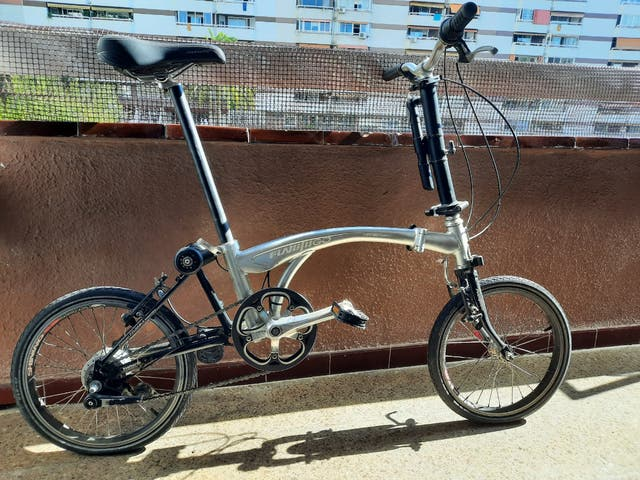 Bicicleta plegable Flamingo London 7nx