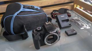 Cámara Canon EOS Rebel T3 (1100D) + KIT