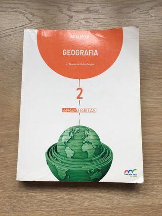 LIBRO DE GEOGRAFIA 2. BACHILLERATO